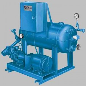 250+°F (121+°C) High Temperature Condensate Return/ Boiler Feed  Stations