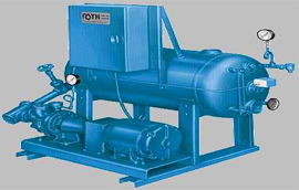 250f-121c condensate return boiler feed stations
