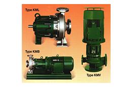 Sealless Magnetic Driven Centrifugal Pumps Type KML/KMB/KMV