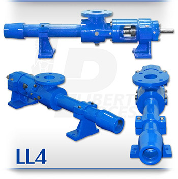LL4 Grouting and Heavy Abrasives Slurry PC Pump