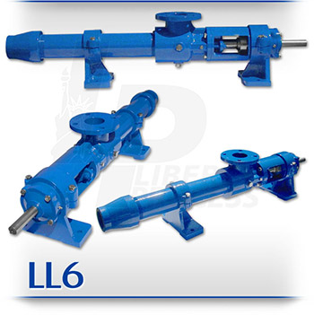 LL6 Hydraulic Fracking & Drilling PC Pump